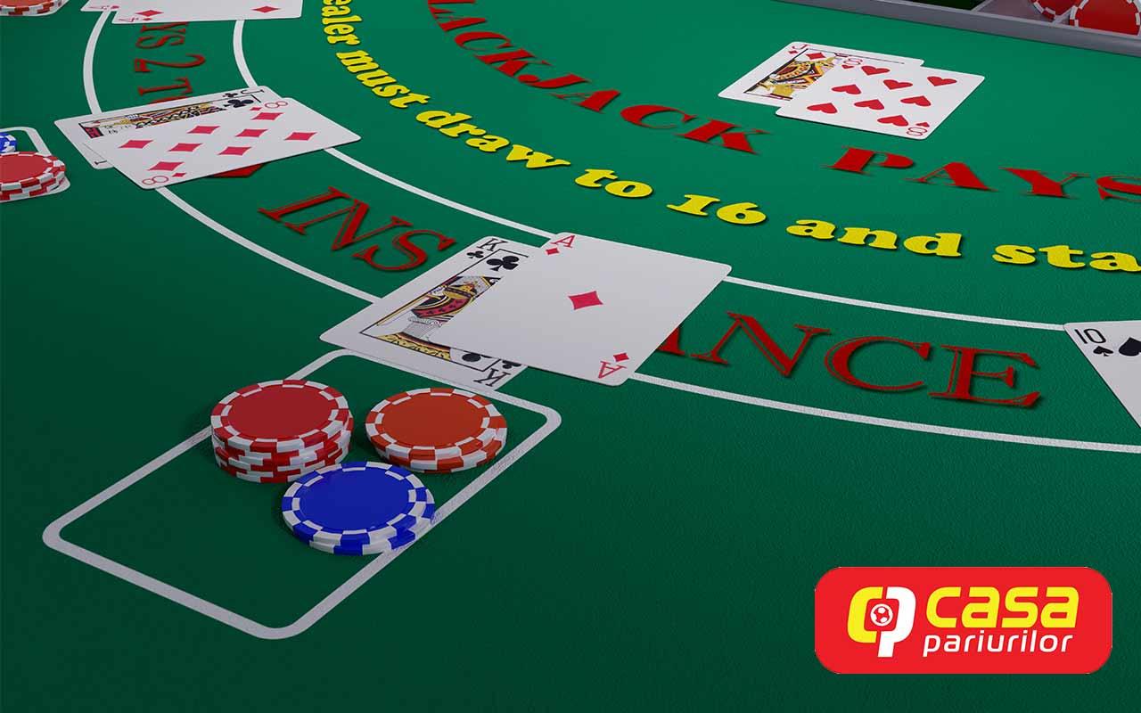 Blackjack Casa Pariurilor