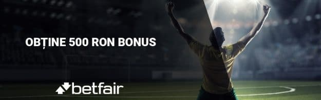 500 ron bonus sport betfair