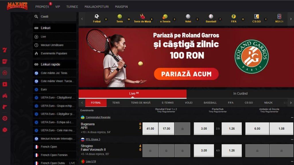 maxbet pariuri sportive online