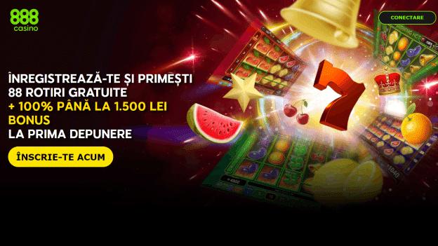 Bonus 88 Rotiri Gratuite 888 Casino