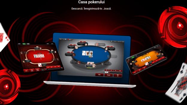 Casa pokerului Pokerstars Casino