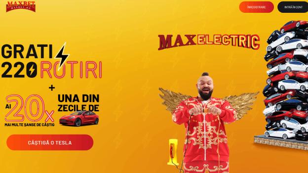 MaxBet MaxElectric Rotiri Gratuite
