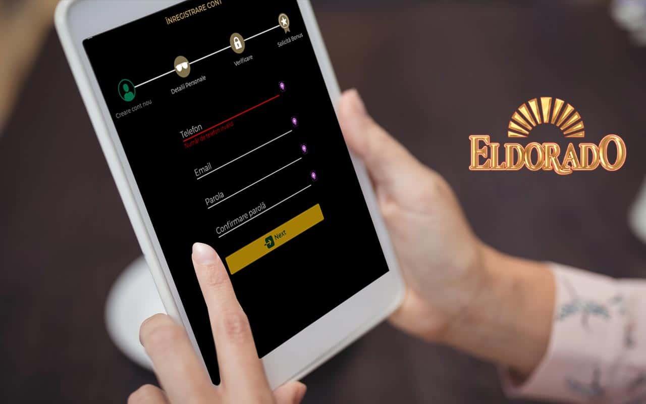 înregistrare Eldorado casino